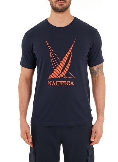 Nautica Tişört Lacivert